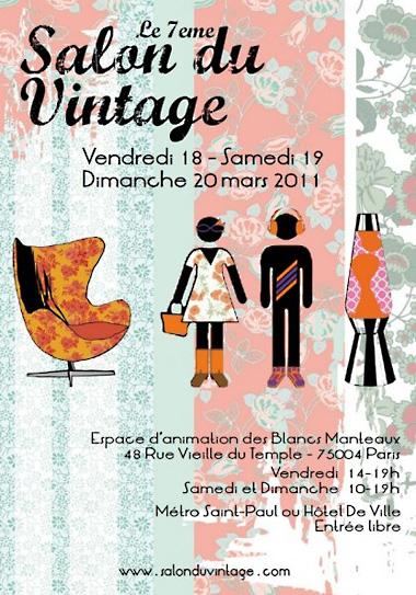 7 ème salon du vintage affiche